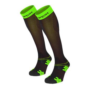 Bv Sport XLR EVO - Chaussettes noir/vert