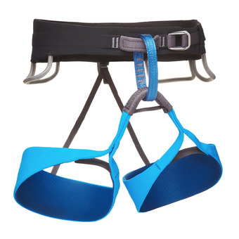 Black Diamond SOLUTION - Arnés hombre black/ultra blue
