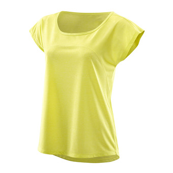 Skins ACTIVEWEAR CODE CAP - Camiseta mujer limoncello/marie