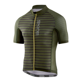 Camiseta hombre CYCLE LOVECAT X-LIGHT utility stripe/black