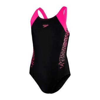 Bañador mujer BOOM SPLICE MSB black/pink