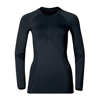 Sous-couche ML femme EVOLUTION WARM black/odlo graphite grey