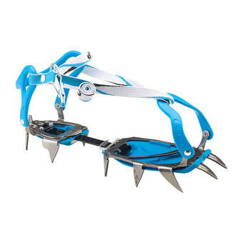 Crampons d'alpinisme STALKER UNIVERSAL bleu