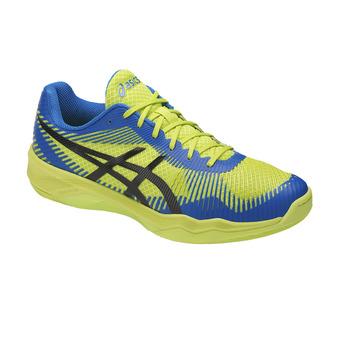Zapatillas de voleibol hombre VOLLEY ELITE FF energy green/directoire blue/b