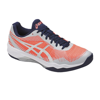 Zapatillas de voleibol mujer VOLLEY ELITE FF flash coral/glacier grey/indig