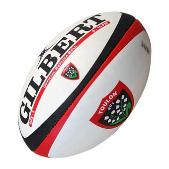 Gilbert REPLICA - Ballon rugby orange