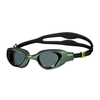 Arena THE ONE - Swimming Goggles - smoke deep green/black