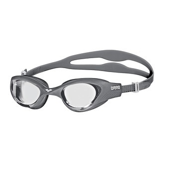 Gafas de natación THE ONE clear grey/white