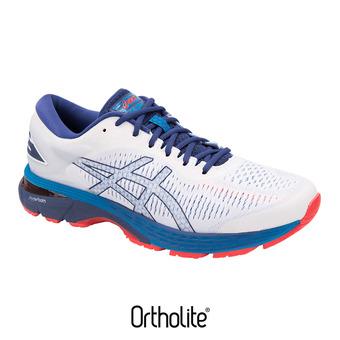 Zapatillas de running hombre GEL-KAYANO 25 white/blue print