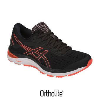 Zapatillas de running mujer GEL-CUMULUS 20 black/flash coral