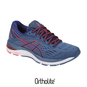 Zapatillas de running mujer GEL-CUMULUS 20 azure/blue print