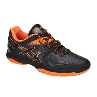 Asics BLAST FF - Zapatillas balonmano hombre black/shocking orange