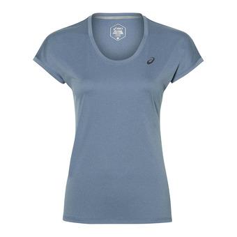 Asics CAPSLEEVE - Camiseta mujer azure heather