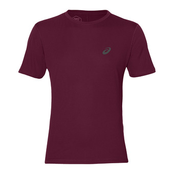 Asics SILVER - Maillot Homme cordovan