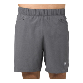 Short hombre 2-N-1 7IN dark grey heather