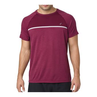 Asics SS - Camiseta hombre cordovan