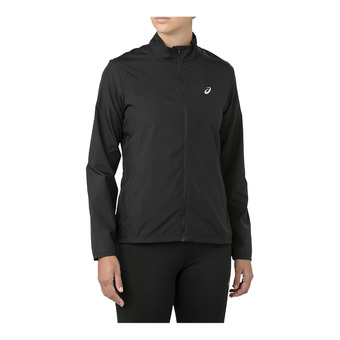Asics SILVER - Chaqueta mujer performance black