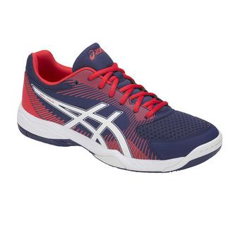 Zapatillas de voleibol hombre GEL-TASK blue print/white
