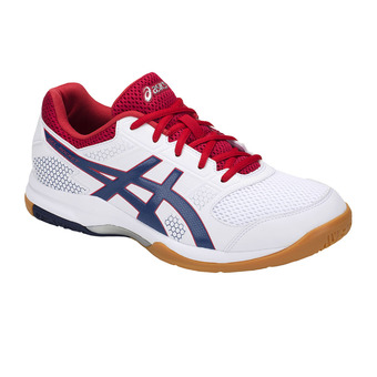 Asics GEL-ROCKET 8 - Chaussures volley Homme white/deep ocean
