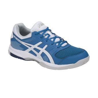 Zapatillas de voleibol hombre GEL-ROCKET 8 race blue/white