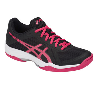 Asics GEL-TACTIC - Volleyball Shoes - Women's - black/pixel pink
