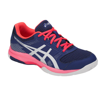 Asics GEL-ROCKET 8 - Chaussures volley Femme blue print/silver