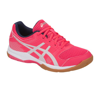 Zapatillas de voleibol mujer GEL-ROCKET 8 diva pink/glacier grey