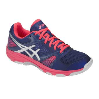 Chaussures handball femme GEL-DOMAIN 4 blue print/silver