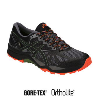 Zapatillas de trail hombre GEL-FUJITRABUCO 6 G-TX carbon/black