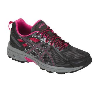 Chaussures trail femme GEL-VENTURE 6 black/pixel pink