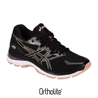 Zapatillas de running mujer GEL-NIMBUS 20 black/frosted rose
