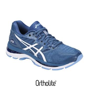 Chaussures running femme GEL-NIMBUS 20 azure/white