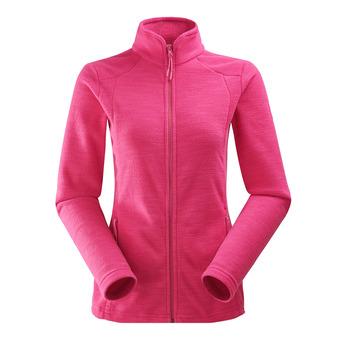 Veste polaire femme GLAD 2.0 dark pink