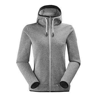 Veste à capuche femme ASTER 2.0 misty grey