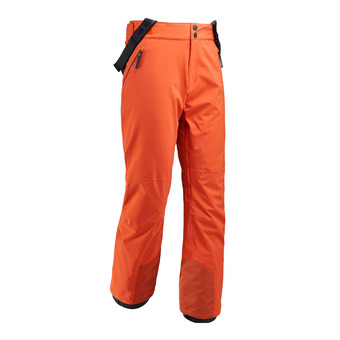 Pantalón de esquí con tirantes hombre  ROCKER dark orange