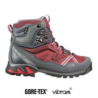 Zapatillas de senderismo mujer HIGH ROUTE GTX® burgundy