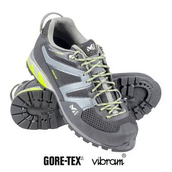 Millet TRIDENT GTX - Zapatillas de aproximación hombre black/acid green
