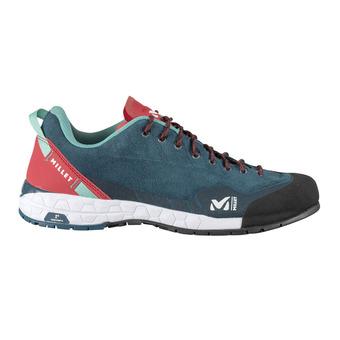 Millet AMURI LEATHER - Zapatillas de aproximación mujer enamel blue