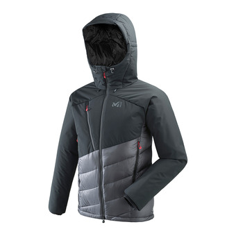 Millet ELEVATION DUAL - Hybrid Jacket - Men's - tarmac/black