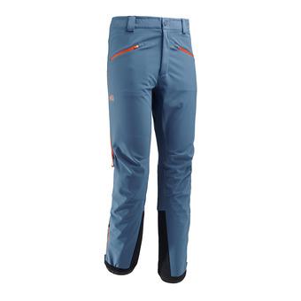 Pantalón hombre TOURING SHIELD teal blue