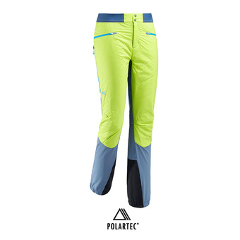 Millet TOURING SPEED XCS - Pantalon ski Homme teal blue/acid green