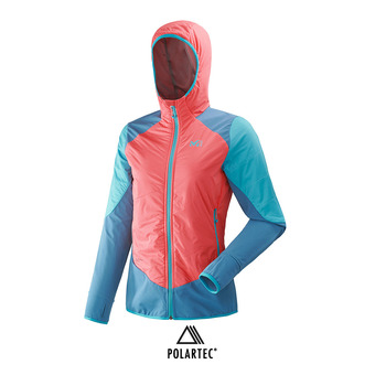 Chaqueta mujer TOURING SPEED XCS poppy red/cosmic blue