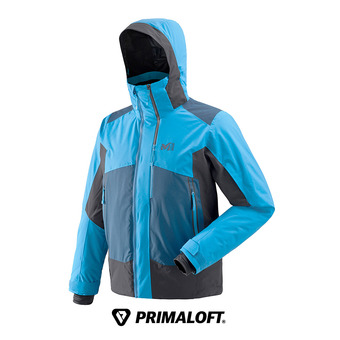 Veste de ski homme 7/24 STRETCH electric blue/noir