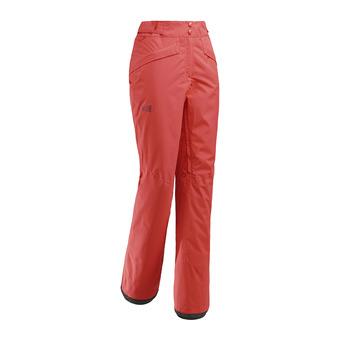 Millet ATNA PEAK - Pantalón de esquí mujer poppy red