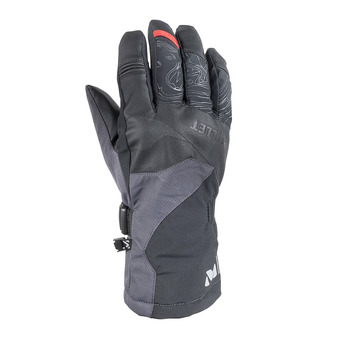 Millet ATNA PEAK DRYEDGE - Gloves - black