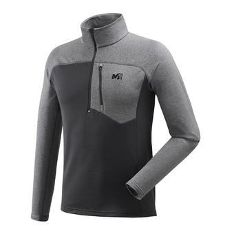 Millet TECHNOSTRETCH ZIP - Fleece - Men's - black/h tarmac