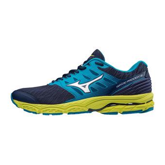 Mizuno WAVE PRODIGY 2 - Chaussures running Homme blue depths/white/blue jewel