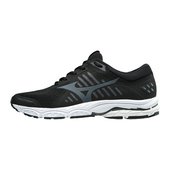Mizuno WAVE STREAM - Zapatillas de running hombre black/ombre blue/white