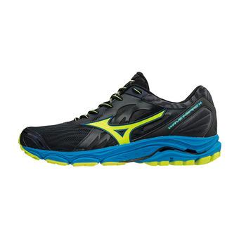 Zapatillas de running hombre WAVE INSPIRE 14 ombre blue/safety yellow/ diva blue