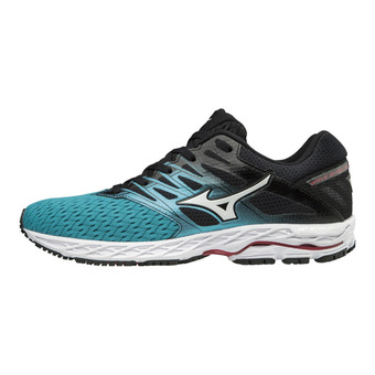 Zapatillas de running mujer WAVE SHADOW 2 peacock blue/silver/teabe